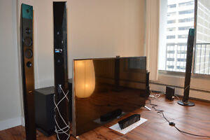 "MUST SELL 2K-OBO: Sony KDL-55W950B 55""+BRHomeTheatre+Stand+DVDs"