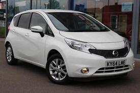 2014 NISSAN NOTE 1.2 Acenta Premium GBP20 TAX, NAV, B TOOTH, CRUISE and ALLOYS