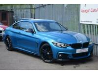 2017 BMW 4 Series 2.0 420i M Sport Auto (s/s) 2dr Coupe Petrol Automatic