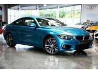 2017 BMW 4 Series 3.0 435d M Sport Auto xDrive (s/s) 2dr Coupe Diesel Automatic