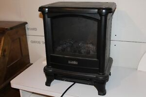 electric wood stove