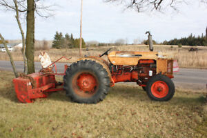 Case 530 with snowblower for sale