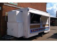 Catering trailer kebabs burgers 14ft