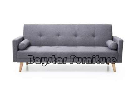 Brand New Linen Fabric,Thick Cushioning Sofa Bed DM1003