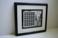 James Dean Framed Stamps