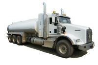 2014 KENWORTH T800 TRI DRIVE TANK TRUCK Cash/ trade/ lease to