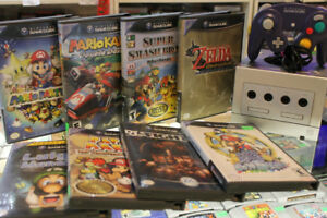 GameCube Games Mario Sunshine Luigi's Mansion Zelda Wind Waker +