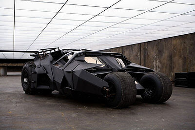 The Batmobile in Batman Begins