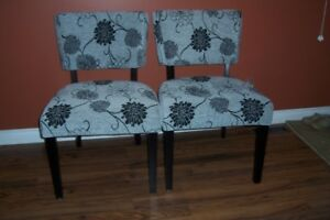 SET OF FABULOUS CHAIRS