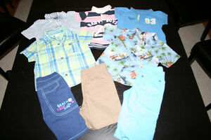 Lot of summer clothes for boy
