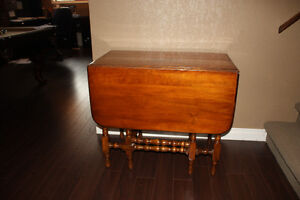 MOVING SALE:  PRICE REDUCED.  DROP LEAF GATE-LEG TABLE