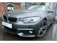 Used, BMW 4 SERIES,3.0 435I M SPORT 2D AUTO-1 OWNER FROM NEW-HEATED CORAL RED DAKOTA L for sale