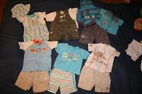 Sélection de vêtements pour garçon 3mois