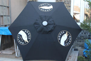 Goose Island Beer Co. Patio Umbrella (from Chicago) Brand New