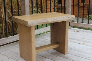 SOLD OAK BENCH / TABLE