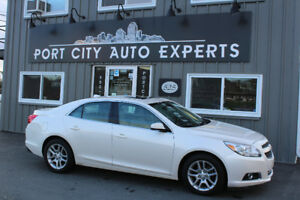 2013 Chevrolet Malibu LT ECO Sedan/ Low KM'S, You're Approved!