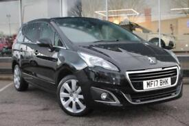 2017 PEUGEOT 5008 1.6 BlueHDi 120 Allure 5dr EAT6