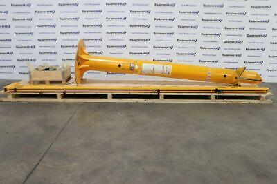 Satateras PK 2 250kg 550 Lb. Capacity Swing Beam Crane w/ SWF Hoist System