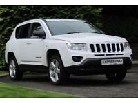 2013 Jeep Compass 2.2 CRD Limited 4WD 5dr