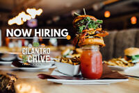 Be our next SOUS CHEF at Cilantro and Chive!