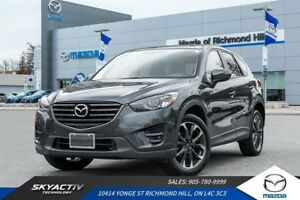 2016 Mazda CX-5 GT NAVIGATION*LEATHER*AWD