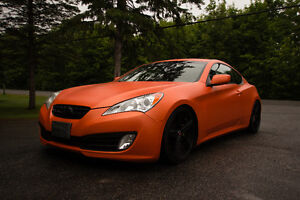 2010 Hyundai Genesis Coupe 2.0T Safety and E-tested