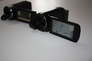 2 Video Camcorders