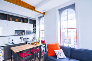 Beautiful Fully Furnished Loft! Short & Long Term Stays Availabl