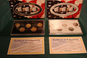 U.S. State Quarter Coin Collection.