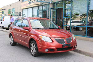 2005 Pontiac Vibe Hatchback - ZERO DOWN FINANCING AVAILABLE -