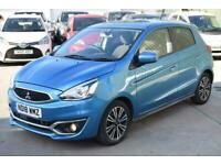 2018 Mitsubishi Mirage 1.2 Juro (s/s) 5dr Hatchback Petrol Manual