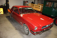 1966 Mustang with Original Dealer Invoice