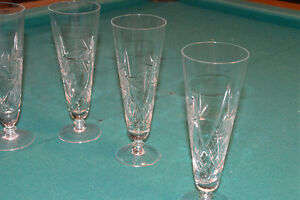 Pin wheel Chrystal beer glasses Kitchener / Waterloo Kitchener Area image 1