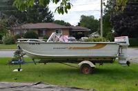 17 Foot Starcraft Boat & Trailer + Extras