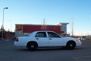 2008 Ford Crown Victoria Police Sedan