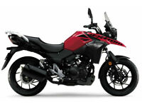 SUZUKI V-STROM 250 V STROM 250cc RED BLACK BRAND NEW - UNREG'D - LOW % FINANCE