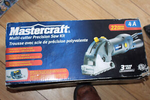 Mastercraft Multi-cutter Precision Saw Kit