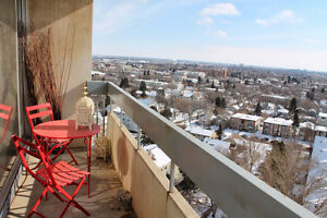 2 bedrooms on Saskatchewan Drive - close to UofA and Whyte Ave