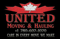 UNITED MOVING & HAULING, The Best Movers.