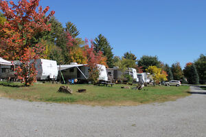 Seasonal sites avail in a small trailer park