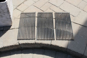 Stainless steel bbq grids