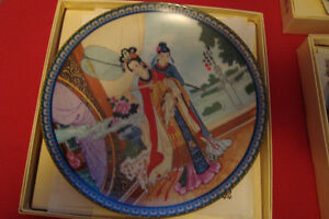 decorative asian ZHAO HUIMIN RED MANSION PLATEs Kingston Kingston Area image 4