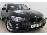 2012 62 BMW 1 SERIES 1.6 116D EFFICIENTDYNAMICS 5DR 114 BHP DIESEL