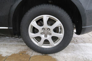 Full Set of Audi Rims with Winter Tires 235/65/R17
