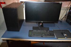 Custom Gaming Setup! 144hz Monitor, i7 6700k, GTX 1080, and more