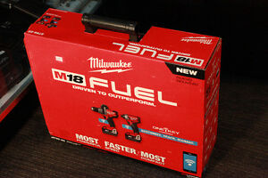 Milwaukee M18 Fuel 2796-22 tools set New in Box with One-Key