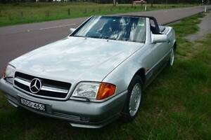 Mercedes Benz 500sl convertible original Australian sold car not import