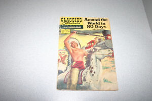 Around the World in 80 Days Classics Illustrated #69