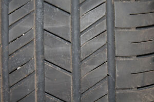 Like New 215 65 R17 Goodyear Integrity Tires