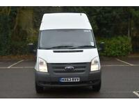 2.2 T350 RWD 5D 124 BHP LWB HIGH ROOF DIESEL MANUAL PANEL VAN 2013